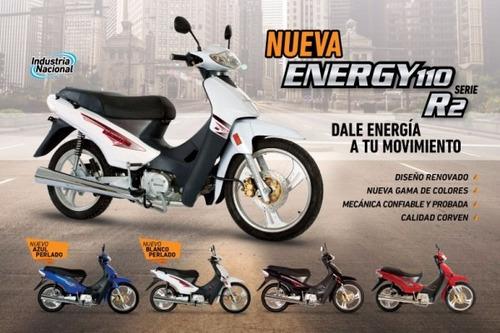 moto corven energy 110 full r2 0km 2017