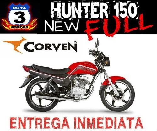 moto corven hunter 150 full new 2018 0km