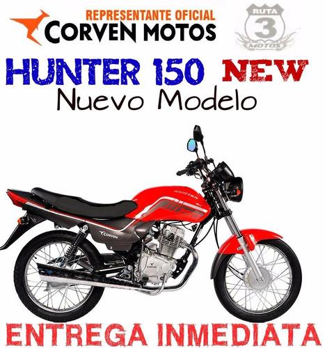 moto corven hunter 150 new 0km 2019