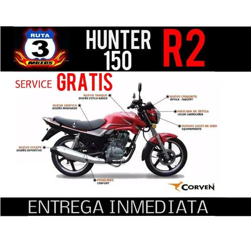 moto corven hunter 150 r2 0km 2019