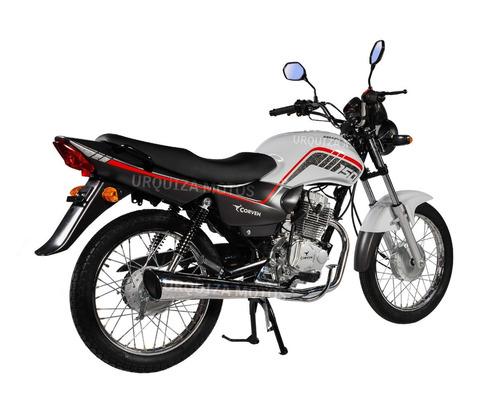 moto corven hunter 150 rt base novedad 0km urquiza motos