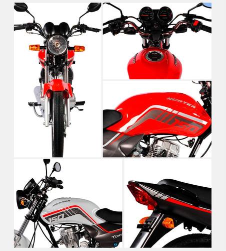 moto corven hunter 150 rt base nueva 0km urquiza motos