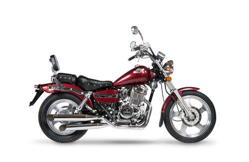 moto corven indiana 256 chopper