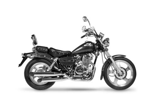moto corven indiana 256 chopper motos
