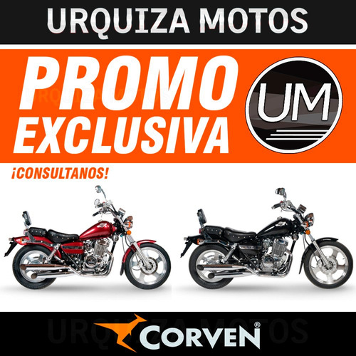 moto corven indiana 256 custom chopper 0km urquiza motos