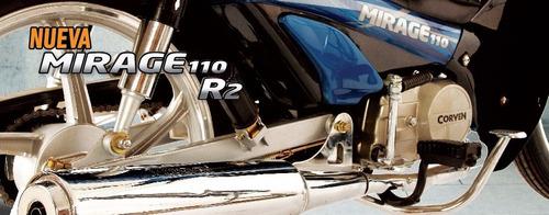 moto corven mirage 110 r2 full 18 cuotas 0km urquiza motos