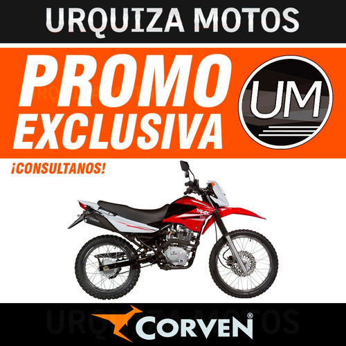 moto corven triax 150 enduro cross 0km urquiza motos