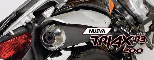 moto corven triax 200 enduro motos