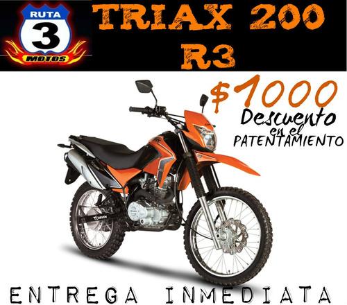 moto corven triax 200 r3 0km 2018