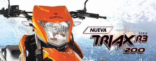 moto corven triax 200 r3 enduro cross 0km urquiza motos