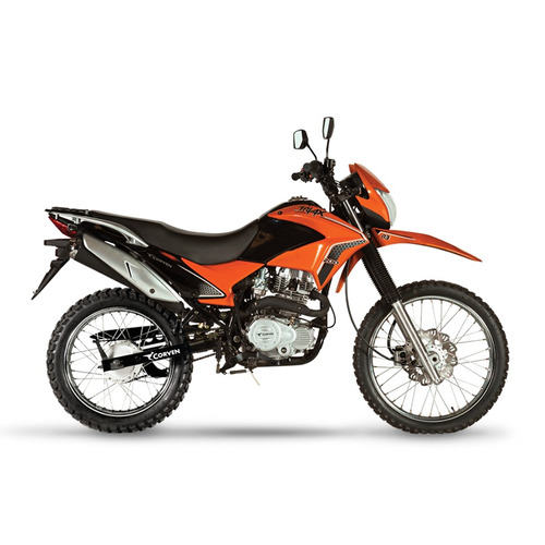 moto corven triax 200 rd enduro cross  urquiza motos