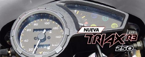 moto corven triax 250 enduro 250