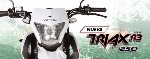 moto corven triax 250 r3 enduro cross 0km zr 250 urquiza