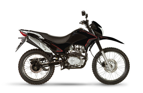 moto corven triax 250 r3 enduro cross + traje de lluvia 0km