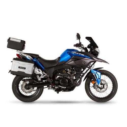 moto corven triax 250 touring valijas usb 12v 0km tipo bmw