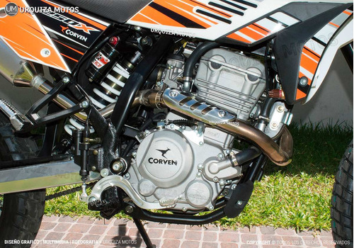 moto corven triax txr 250 x cross trial 0km urquiza motos