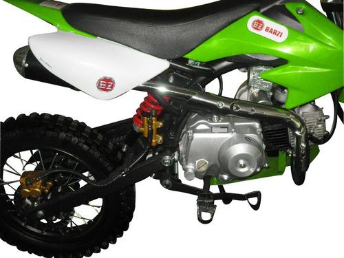 moto cross 125 cc terra para trilha 4 tempos bz