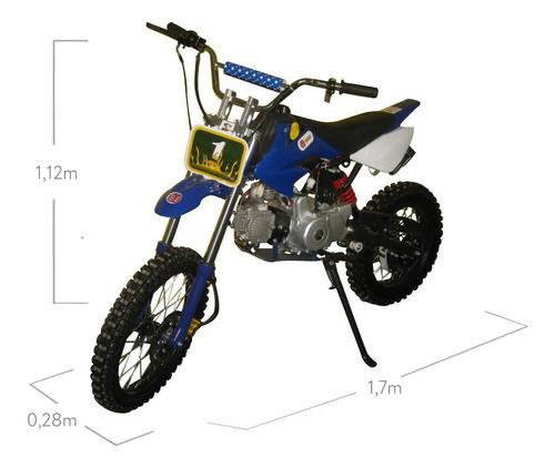 moto cross 125cc terra para trilha bz