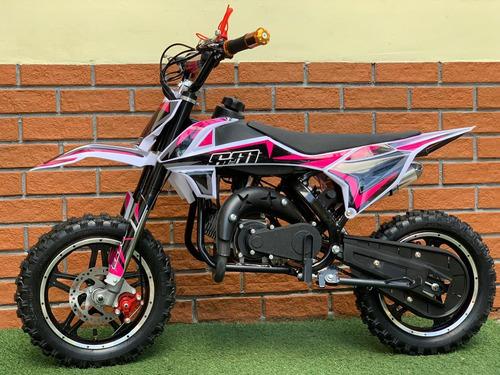 moto cross a gasolina para niños race 60cc nueva