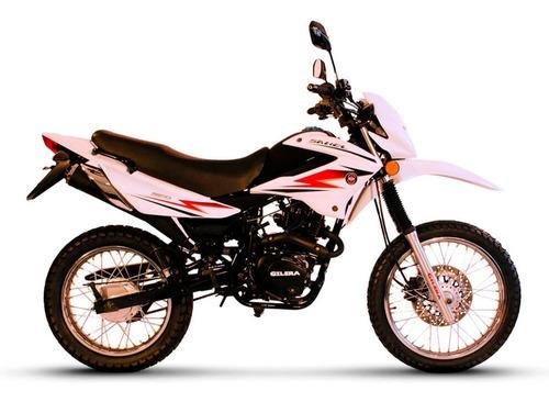 moto cross enduro sahel 150 gilera financiada 0 km