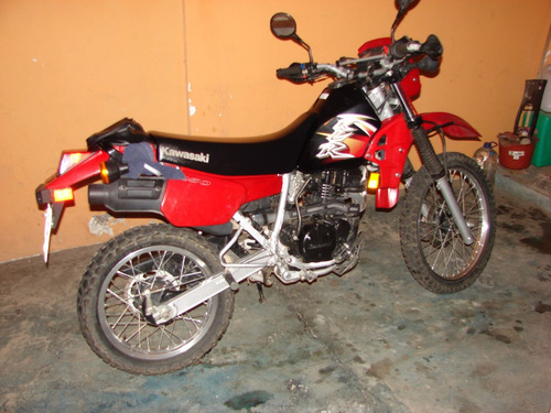 moto cross kawasaki 250cc