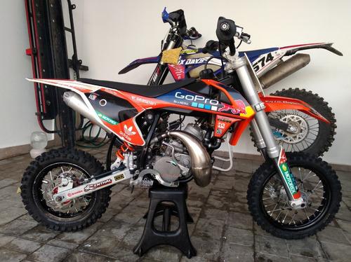 moto cross ktm modelo