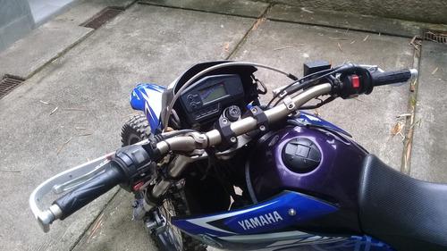 moto cross yamaha lander