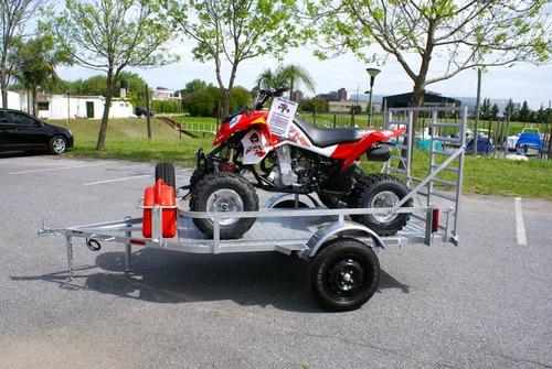 moto cuatri trailer