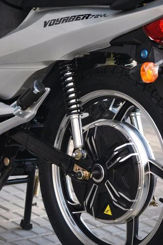 moto cub electrica veems go voyager 50 kms autonomia