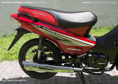 moto cub smash 110 vs gilera 0km urquiza motos