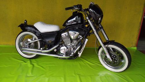 moto custom chopper honda shadow vlx 600cc 1997