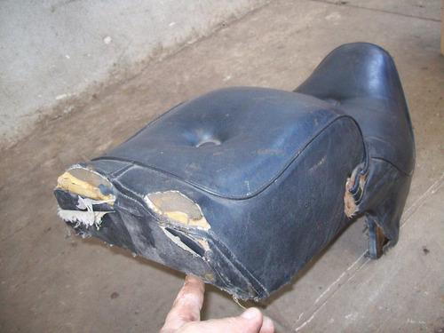 moto custom--motos antiguas -asiento