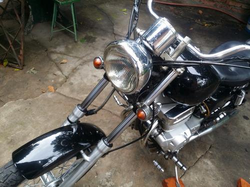 moto custom rider 250