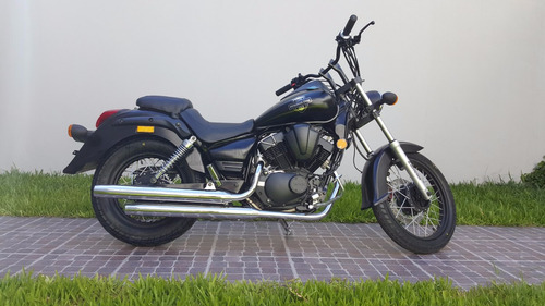 moto custom zanella darkshadow 250 shadow 0km urquiza motos