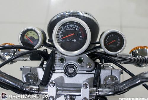moto custom zanella patagonian eagle 150 black 0km dni