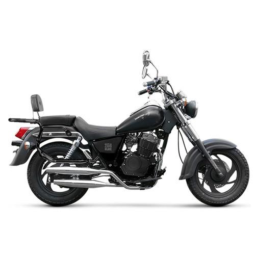 moto custom zanella patagonian eagle 250 black 0km 2018