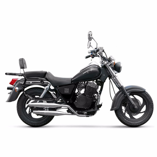 moto custom zanella patagonian eagle 250 black 0km