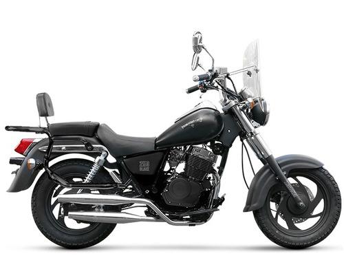 moto custom zanella patagonian eagle 250 black 0km nueva