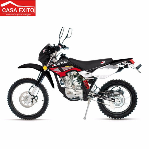 moto daytona eagle dy 150 gy-1 color rojo año 2016