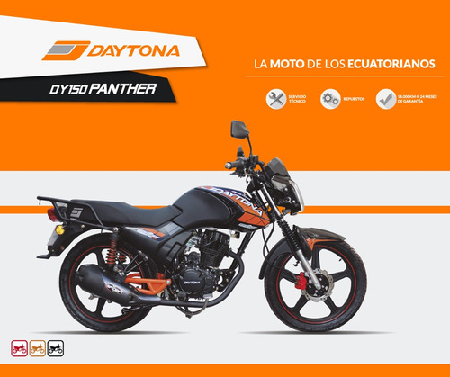 moto daytona panther dy150 año 2018