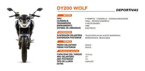 moto daytona wolf 200cc cadenilla balance shaft año 2020