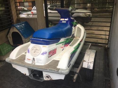 moto de agua kawasaki 750 cc con trailer
