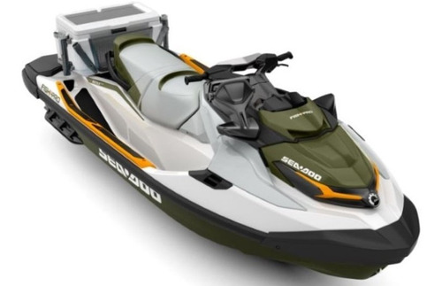 moto de agua sea doo fish pro 155 hp- 0 hs- motomarine