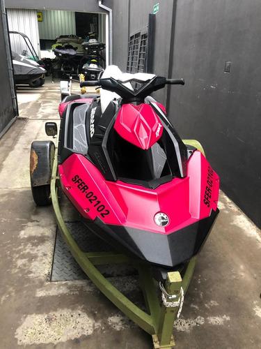 moto de agua spark 3up 900 ho 2015- 107 hs- motomarine