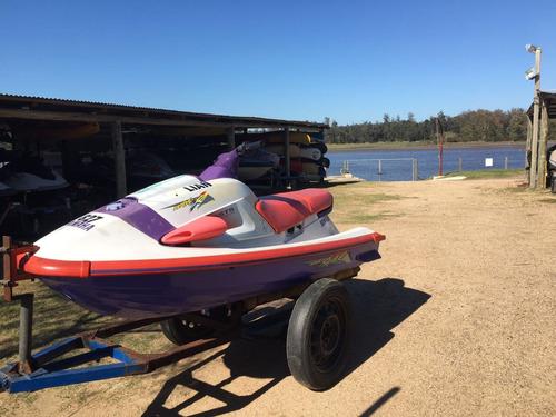 moto de agua yamaha 700 waverider waverunner con trailer