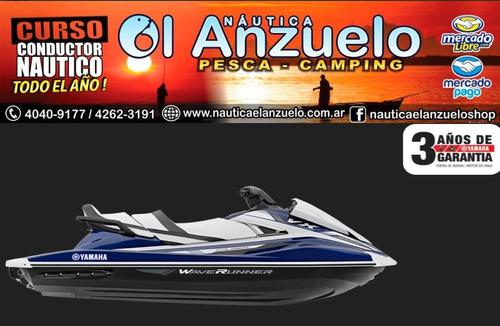 moto de agua yamaha vx cruiser azul y blanco