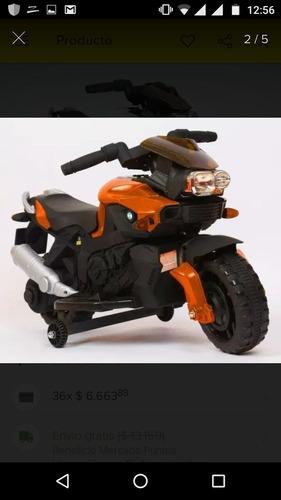 moto de  bateria recargable estado nueva