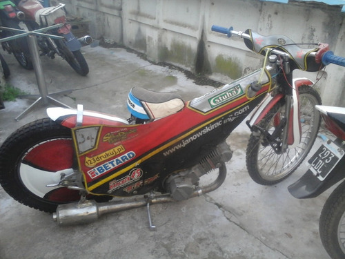 moto de competicion speedwey   500 cc  lista para correr