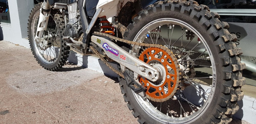moto de cross ktm- modelo sxf 450- 27 hs- sauma motos