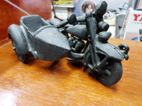 moto de hierro fundido estilo hubley americana rara!!!